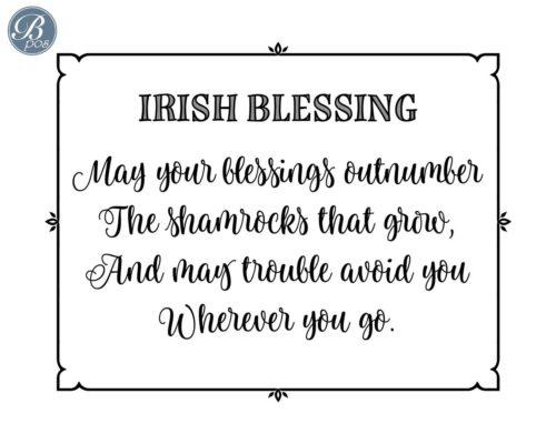 Irish Blessing Duo #3